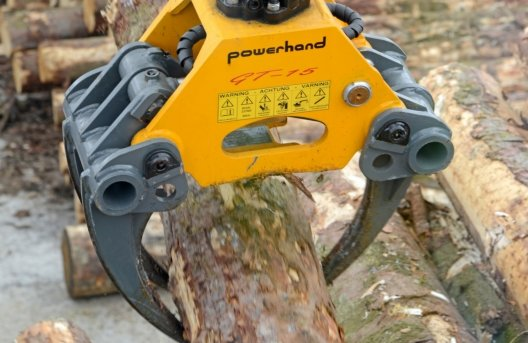 powerhand gt sorting grapple finger like tines feature