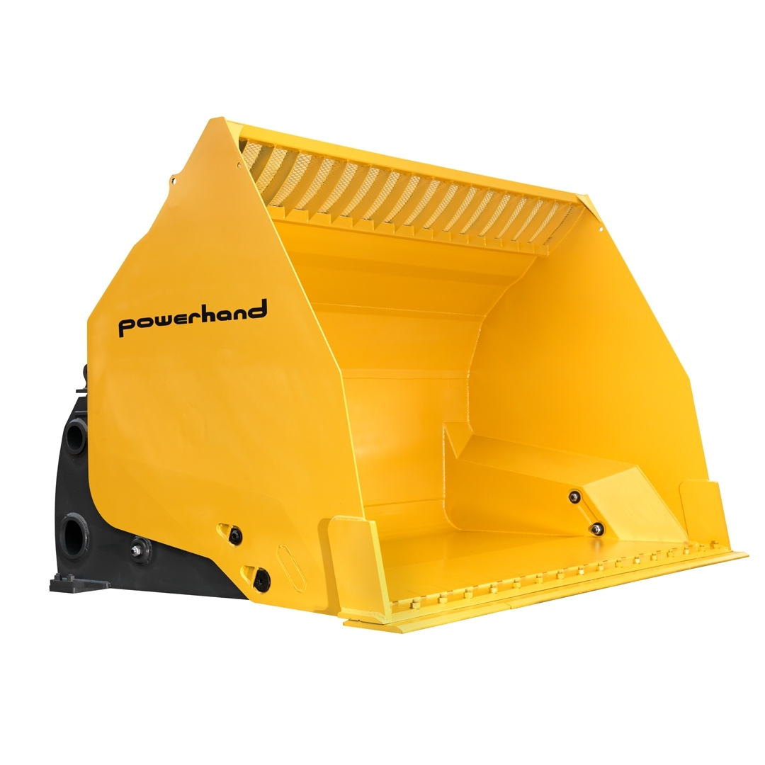 powerhand hitip materials bucket closed