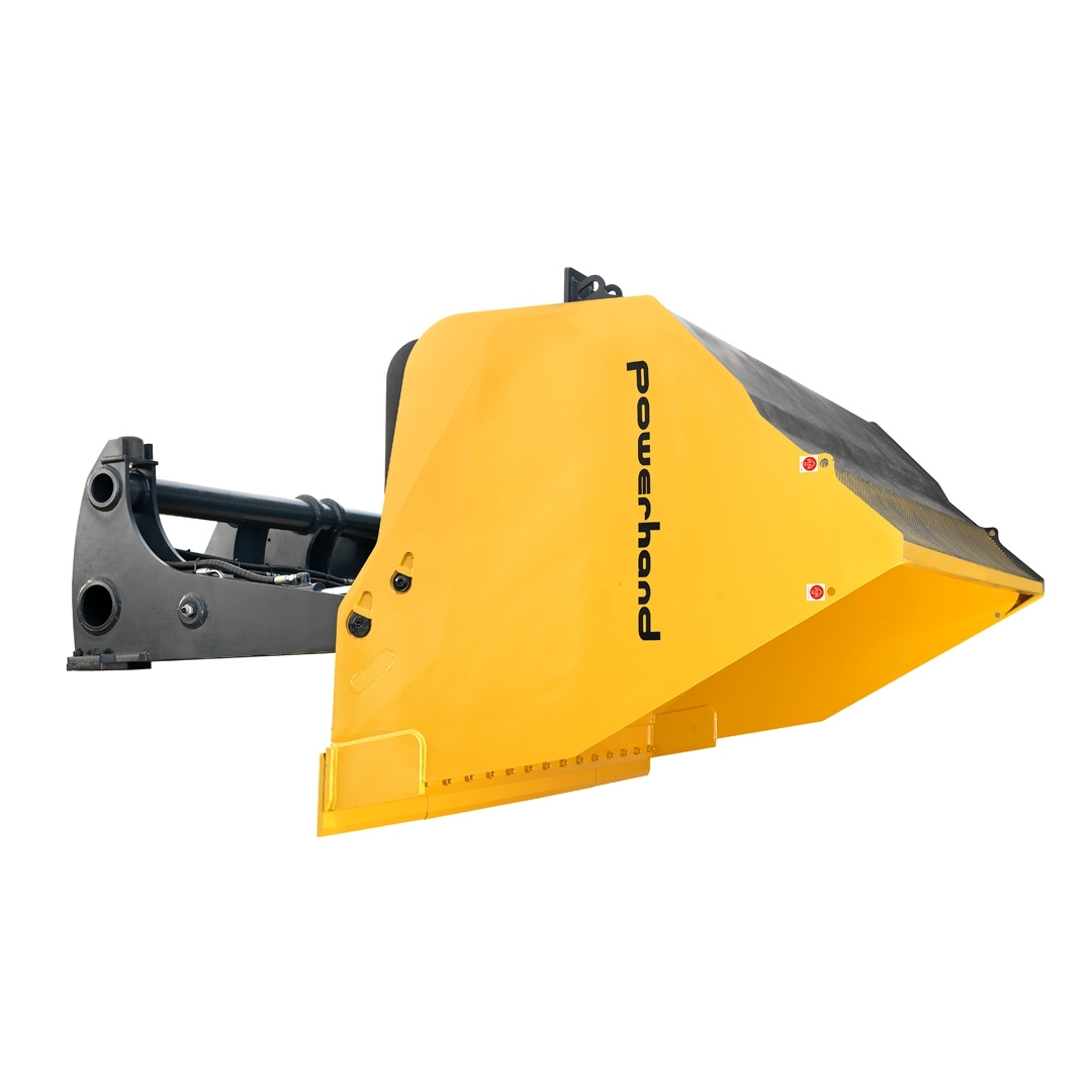 powerhand hitip materials bucket tipped