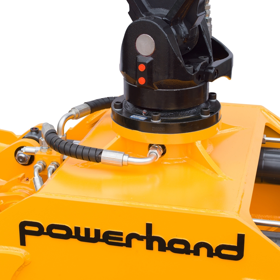 powerhand cl clamshell large rotator mount